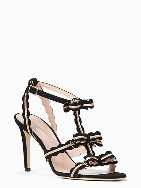 Kate Spade Ilene Heels, Black - Size 10