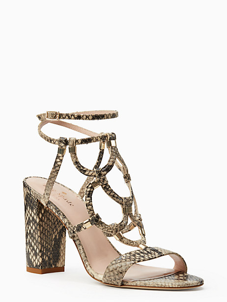 irving heels, natural
