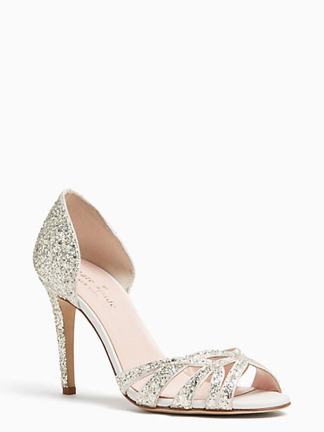 Kate Spade Idaya Heels, Crystal - Size 10