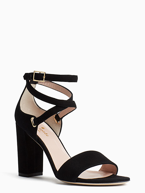 Kate Spade Isolde Heels, Black - Size 10