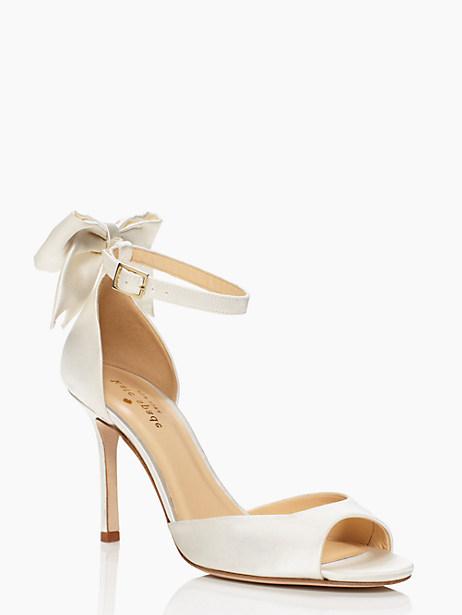 Kate Spade Izzie Heels, Ivory - Size 10.5