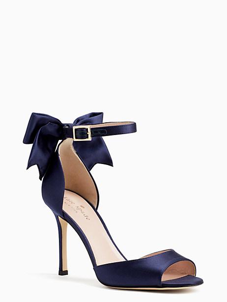 Kate Spade Izzie Heels, Navy - Size 6.5