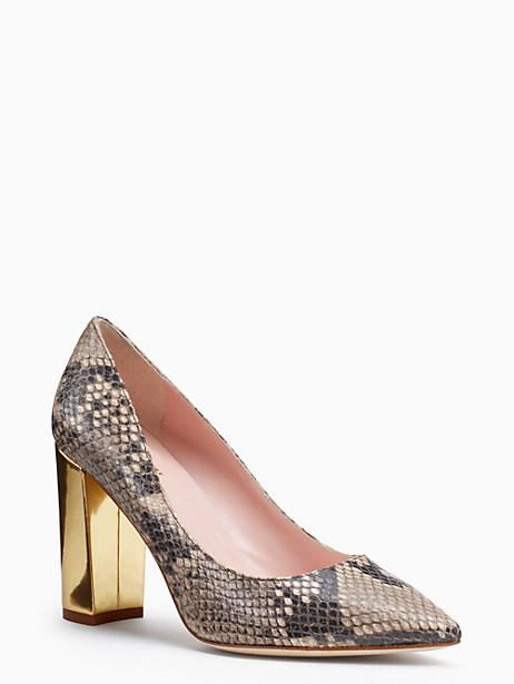 Kate Spade Pixanne Heels, Natural - Size 10