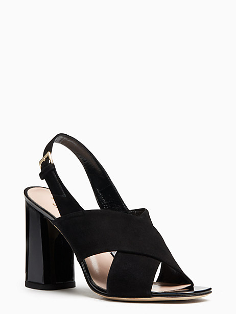 christopher heels, black