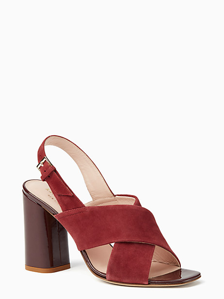 christopher heels, red chestnut