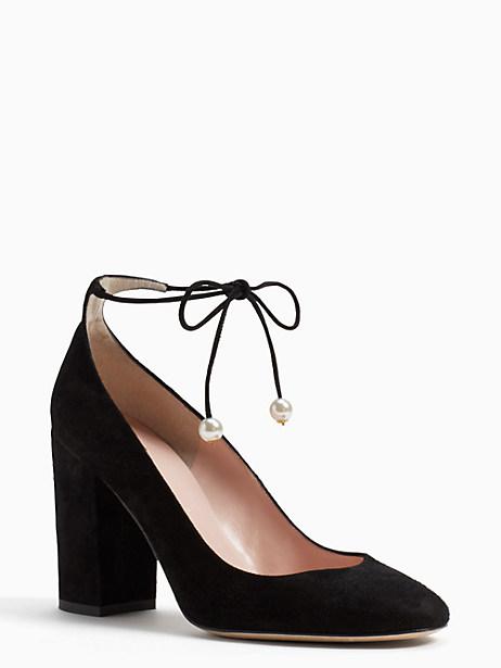 Kate Spade Gena Heels, Black - Size 10