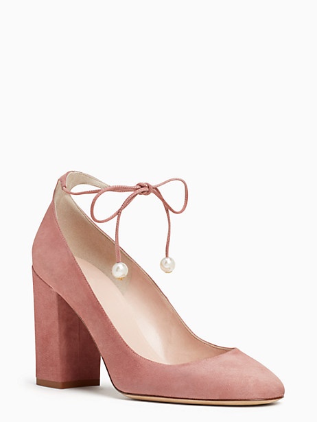 Kate Spade Gena Heels, Vintage Rose - Size 10