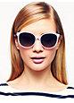 shawna sunglasses, pale lavendar