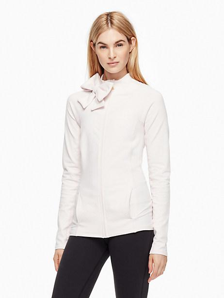 Neck Bow Jacket, Satin Slipper - Size L