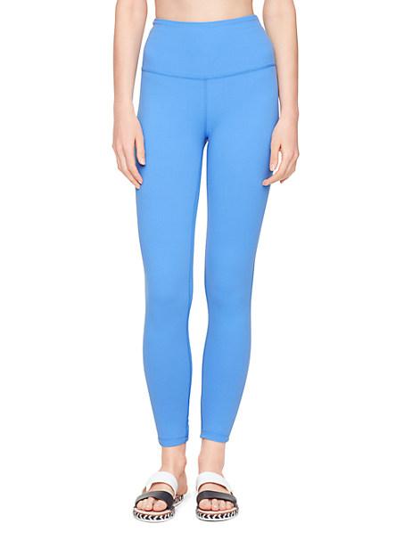 Kate Spade Triple Bow Leggings, Alley Blue - Size L