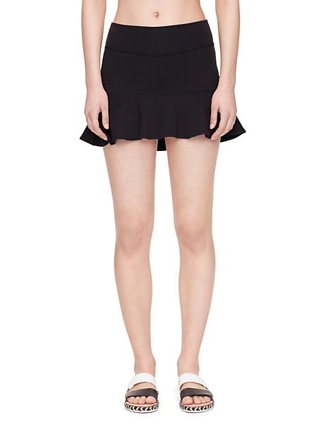 Kate Spade Flounce Peplum Skirt, Black - Size S