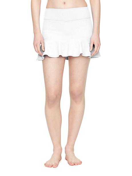 Kate Spade Flounce Peplum Skirt, White - Size L