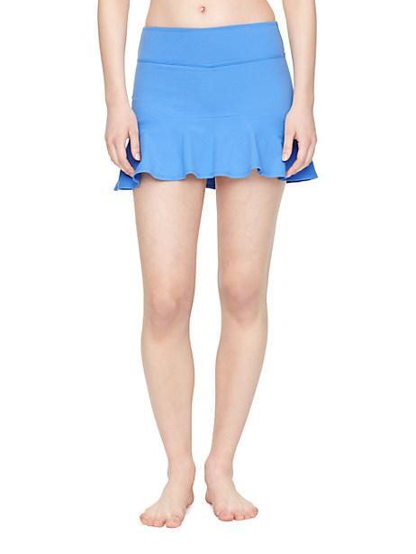 Kate Spade Flounce Peplum Skirt, Alley Blue - Size L