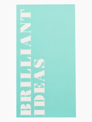 brilliant ideas large notepad