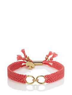 on purpose charm bracelet by kate spade new york