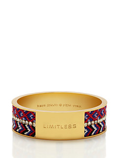 on purpose wide double bangle by kate spade new york