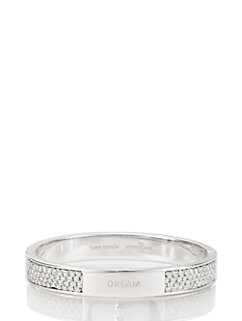 on purpose hinge bangle by kate spade new york