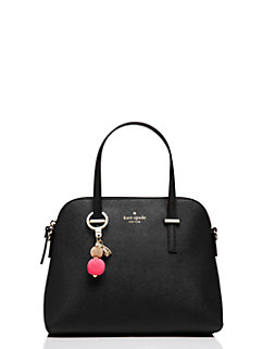 on purpose beaded keychain by kate spade new york