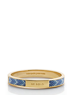 on purpose hinged bangle by kate spade new york