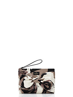 on purpose mushroom floral clutch by kate spade new york