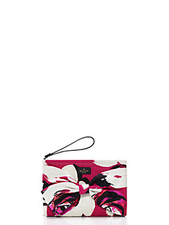 on purpose sweetheart pink clutch by kate spade new york
