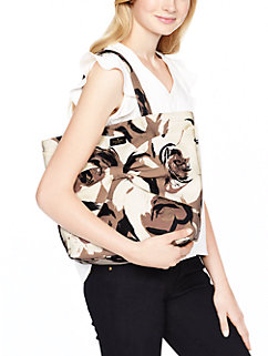 on purpose mushroom floral tote by kate spade new york