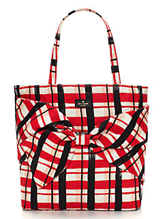 on purpose plaid tote by kate spade new york
