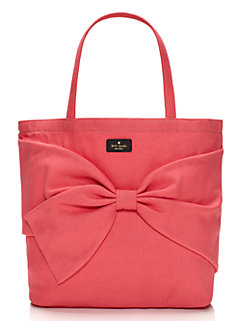 on purpose flamingo pink tote by kate spade new york
