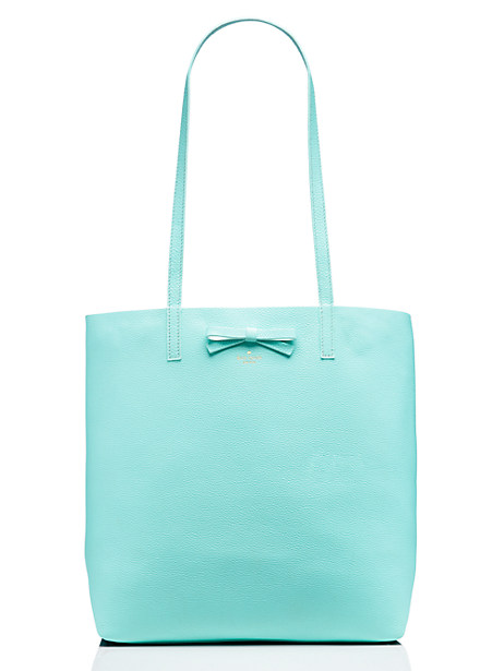 Kate Spade On Purpose Leather Tote, Atoll Blue
