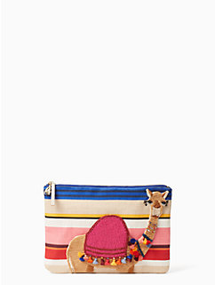 on purpose embroidered camel clutch by kate spade new york