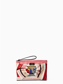on purpose canvas wristlet by kate spade new york