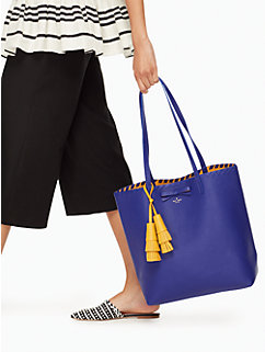 on purpose leather tote by kate spade new york