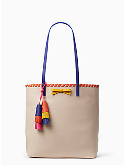 on purpose leather tote with tassel by kate spade new york