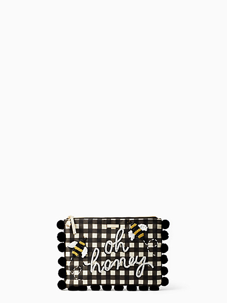 oh honey embellished clutch by kate spade new york