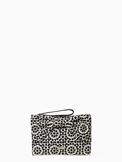 on purpose new canvas bow wristlet by kate spade new york