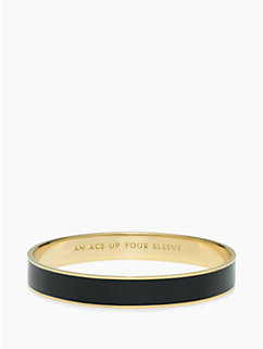 an ace up your sleeve idiom bangle