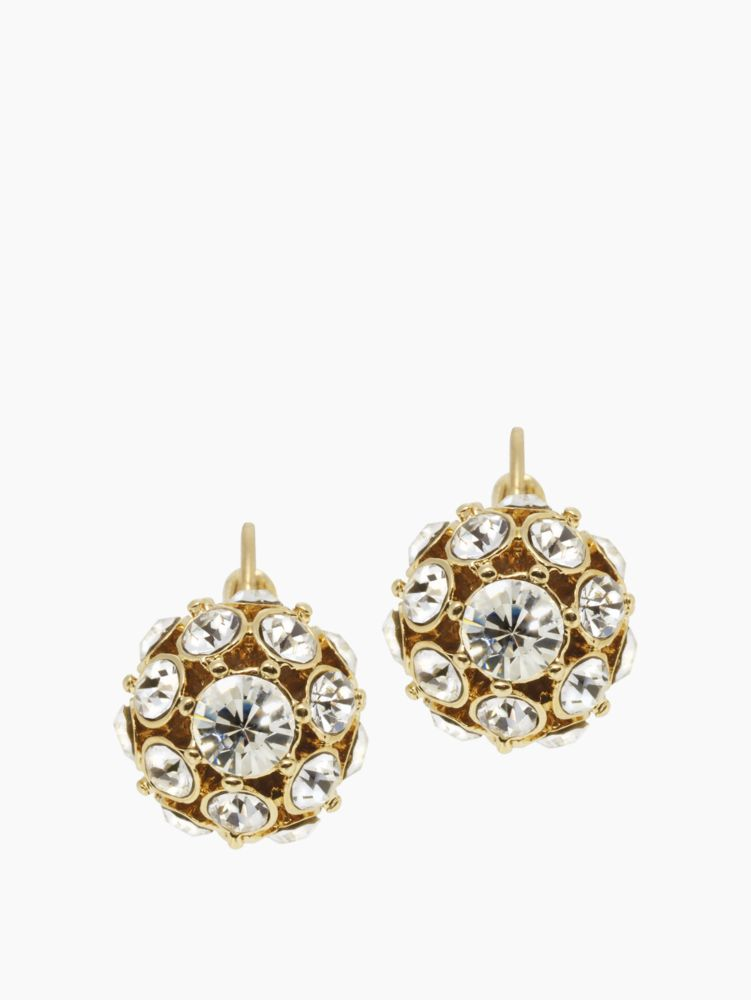 lady marmalade ball earrings