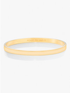 heart of gold idiom bangle by kate spade new york