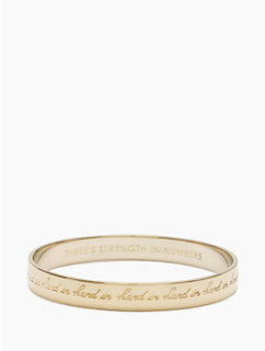 hand in hand idiom bangle