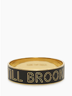no sleep till brooklyn idiom bangle