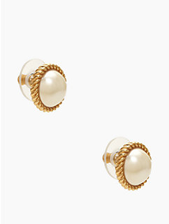 seaport pearl studs by kate spade new york