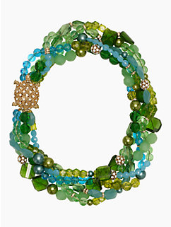 sea glass twisted statement necklace by kate spade new york