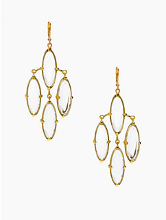 kahina chandelier earrings by kate spade new york
