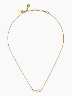 "say yes ""I do"" necklace by kate spade new york"