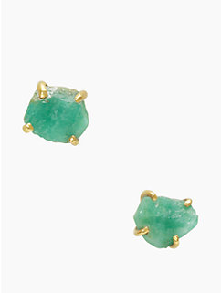 the royal bazaar emerald studs
