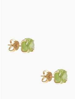 the royal bazaar peridot studs