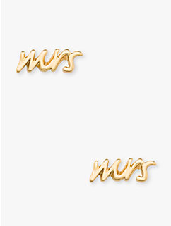 say yes ''mrs'' studs