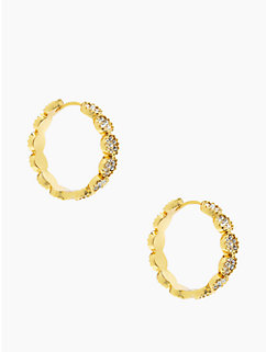 gatsby dot hoops by kate spade new york