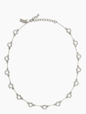 delicate dots short scatter necklace
