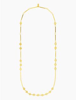 dotted line scatter necklace by kate spade new york